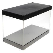 Chiffres Modèle Transparent Présentoir Vitrine Petite Boîte Acrylique 15