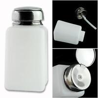 Nail Polish Remover Alcohol Press Pumping Dispenser Bottle