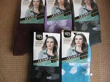 Ladies/Girls cotton socks by Leonfit,  Size 3-5, ,Bow logo