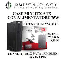CASE MINI-ITX GS-1555 CON ALIMENTATORE ELETTRONICO 75W 6