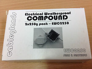 Electrical Weatherproof Compound 2 x 250g Pack - IP67