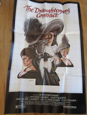 DRAUGHTSMAN'S CONTRACT Peter Greenaway original movie poster