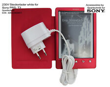 Alimentatore 230v per Sony prs-t3 PRS T 3 EBOOK READER caricatrici Sony CARICABATTERIE spina, bianco