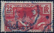 FRANCE JEUX OLYMPIQUES N° 184 CACHET AMBULANT BLEU