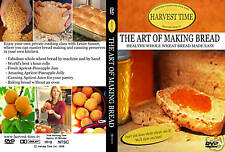 THE ART OF MAKING BREAD, ROLLS, JAM & JELLY DVD  NEW!