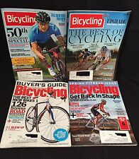 Lot Of 4 Bicycling Magazines March, April, June, November 2011, Cycling, Fitness