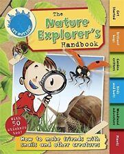 New, The Nature Explorer's Handbook (Get Outside!), Butterfield, Moira, Book