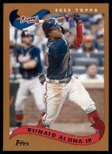 2020 Archives Base #241 Ronald Acuña Jr. - Atlanta Braves