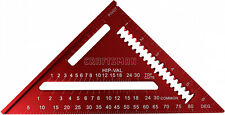 Craftsman 7 High-Visibility Red Rafter Angles Square Aluminum Free Shipping NEW