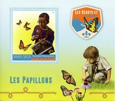 Madagascar 2016 MNH Scouts & Nature Butterflies 1v S/S Scouting Insects Stamps