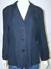 Uniform John Paul Richard Black Light Blazer Womens Size Medium 8 10