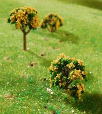 25 gelb blühende Büsche 15 mm bzw., Bäume 25 mm N, Z
