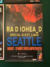 Radiohead Seattle 2008 In Rainbows Tour Concert Poster Rare Stanley Donwood