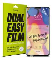 For LG V40 ThinQ Screen Protector Ringke [Dual Easy Film] Clear Full Cover 2pcs