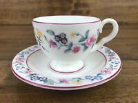 Vintage Royal Albert Bone China Cup And Saucer Marguerite Pattern