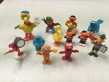SESAME STREET PVC  COLLECTIBLE FIGURES CAKE TOPPERS  PLASTIC PLAYSET PIECES