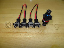 (4x) RC Engineering Fuel Injector Connector Pigtails (Quick Disconnect)