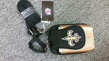 New Orleans Saints Purse Plus Touch Phone  ID Wallet Charm 14 Gift Bag Compact