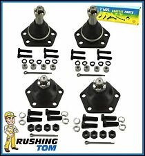 4 Pc Front Upper & Lower Ball Joints 4WD Chevy Blazer S10 GMC Jimmy K5320 K5335