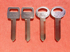 4 THUNDERBIRD COUGAR OEM KEY BLANKS 1967 - 1983
