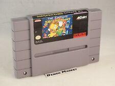 THE SIMPSONS BART'S NIGHTMARE - NINTENDO SNES SUPER NES NTSC-U US USA AMERICANO