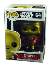 Funko POP #64, Star Wars episode VII, C-3PO Figure Bobble-Head