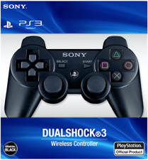 Sealed PlayStation 3 Dualshock 3 Wireless Controller - Sony PS3 - Black