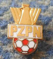 POLAND FUSSBALL FOOTBALL SOCCER FEDERATION 2000's ENAMEL SMALLER GOLD PIN BADGE