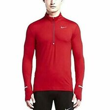 Nike Men's Red Dri Fit Element Running 1/4 Zip Size S 904946 657, New w/ no tags
