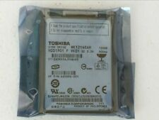 """Toshiba MK1214GAH HDD1901 120GB 4200RPM 1.8"""" ZIF/CE Hard Drive for Laptop PC"""