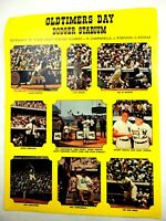 Old Timers Day Dodger Stadium Retirement of Numbers Campana-Robinson-Kofax 1972