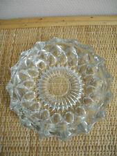 grand cendrier [2] vintage verre déco rétro shabby glass ashtray 50s 60s France