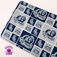 Old Dominion University Monarchs Cotton Fabric ODU