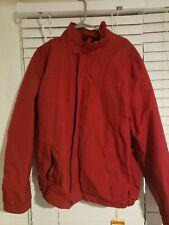 Eddie Bauer Fleece Men's WEATHEREDGE Jacket Coat XL Tall Waterproof Rain Gear