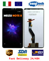 Touch Screen LCD Display Schermo Vetro Meizu Note 8 M822H M822Q Nero