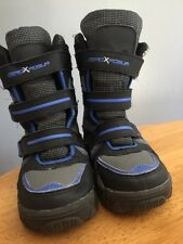 ZeroxPosur Zero Exposure Winter Snow Boots Hiking Trail Girls Boys Shoes Sz 12 ~