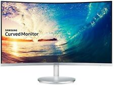 "SAMSUNG 27"" WIDE PREMIUM CURVED LED MONITOR 1920X1080p, MODEL C27F591FDE"