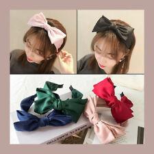 Women Cute Bow Knot Cross Wide Headband Head Band Headwear Hair Accessories Gift