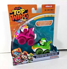 NEW Nick Jr TOP WING Vehicle RACERS 2-Pack PENNY & BRODY Action Figures Toy Cars