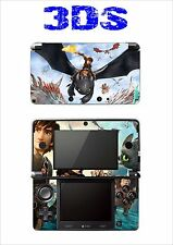 VINYL SKIN STICKER FOR NINTENDO 3DS REF 194 HOW TO TRAIN YOUR DRAGON