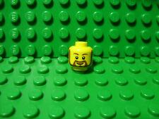LEGO New head - rounded beard pattern