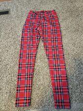 Cielo Jeans Plaid Medium Leggings