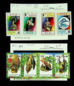 FIJI 9th ASIAN INT'L PHILATELIC EXPO WWF MONKEY 8v MNH STAMPS CV $17.50