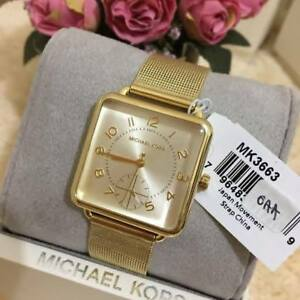 Michael Kors Brenner Three-hands Gold-tone Watch