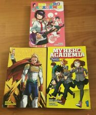 My Hero Academia Group of (3) Books with (2) Manga