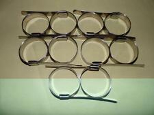 """STAINLESS STEEL 2"""" PUNCH-LOK CLAMPS P-8S LOT OF TEN FREE SHIPPING"""