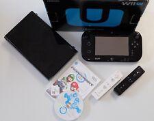 Nintendo Wii U Konsole 32 GB Konsolen Set & Mario Kart Wii & 2 Remote Controller