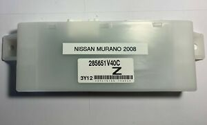 OEM 08 Nissan Murano Front Left Driver Side Power Seat Control Computer Module
