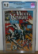 Marc Spector Moon Knight 9 CGC 9.2 Marvel Newsstand Edition