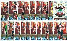 2015 / 2016 EPL Match Attax SOUTHAMPTON Team, Star Player, Logo & Away Kit
